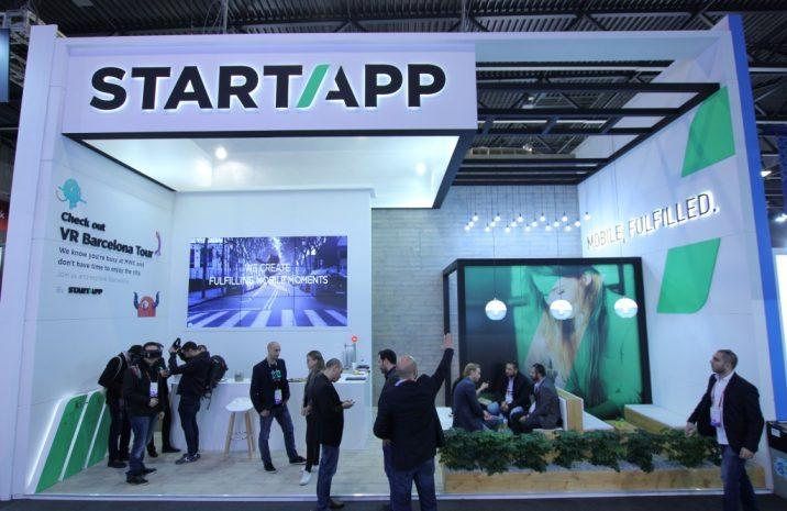 StartApp Booth at MWC 2017
