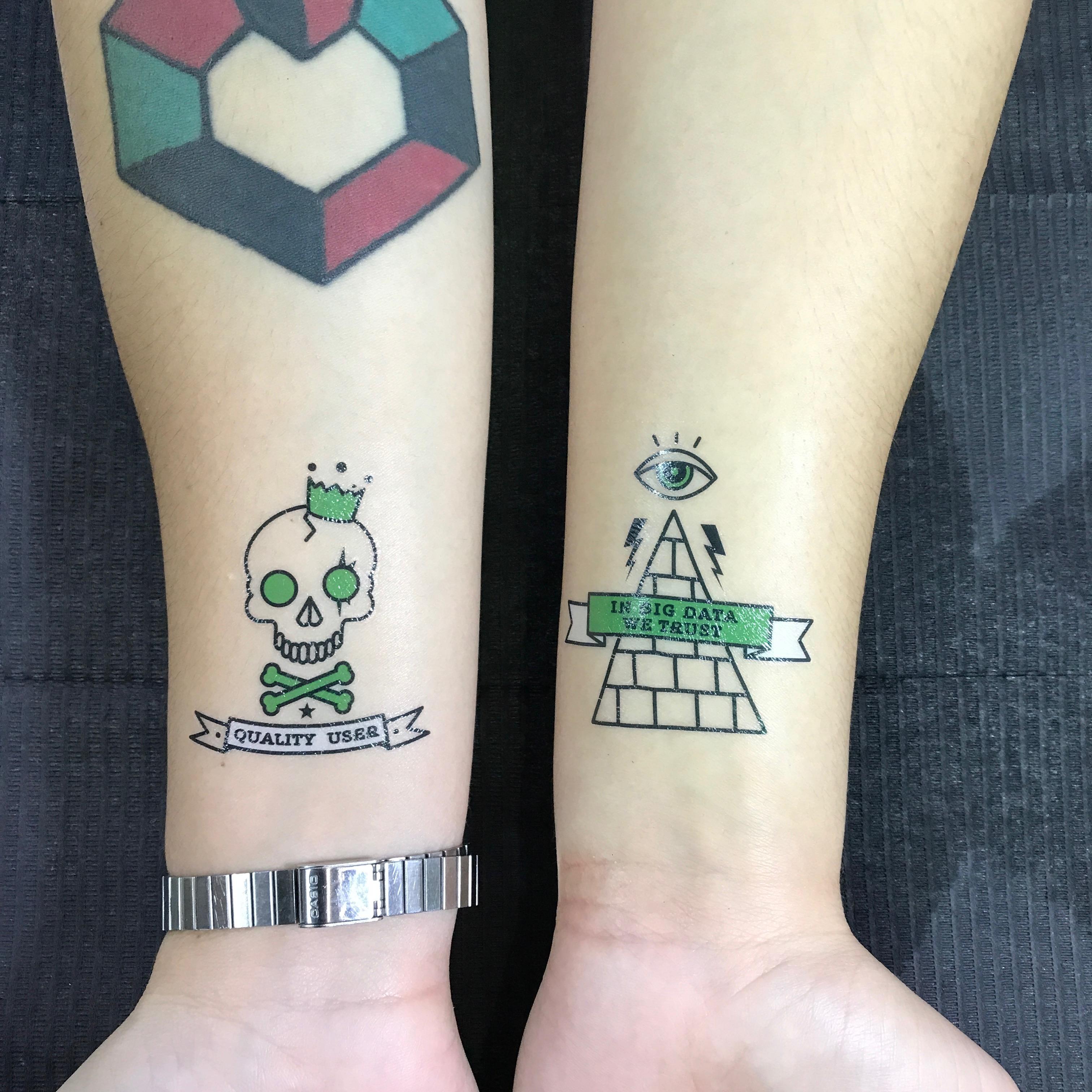 startapp at dmexco: tattoos