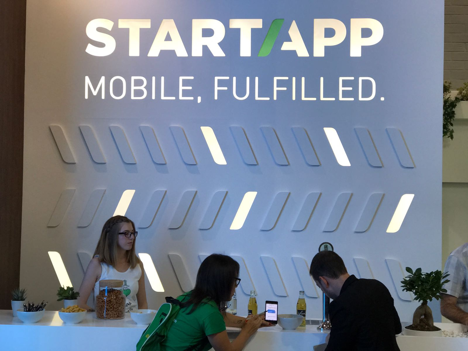 startapp at dmexco: booth